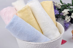 Nice towels Royalty Free Stock Image