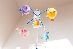 Nice toy carousel Stock Image