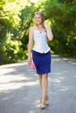 Nice trendy woman Stock Image