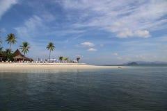 Nice Vacation on the beach at Mook Island Andaman Sea. In Trang, Thailand Royalty Free Stock Image
