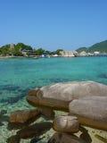 Nice view. Nice clear water on Nang Yuan Royalty Free Stock Image
