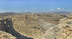 Nice view from Arbel mountain Royalty Free Stock Photography