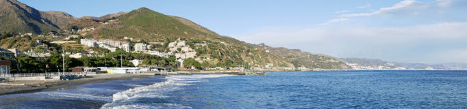 Nice view of arenzano Royalty Free Stock Images