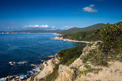 Nice view of the bay. Royalty Free Stock Photo