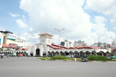 Nice view of Ben Thanh Market. A nice view of Ben Thanh Market in Sai Gon, Viet Nam Stock Photo