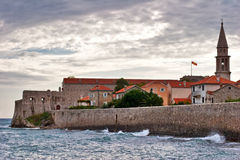 Nice view of Budva Royalty Free Stock Photography