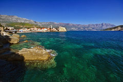 Nice view of Budva Stock Images