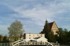 Nice view on Bydgoszcz, Poland. Stock Photos