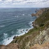 Nice view of of Cape Roca, Portugal. Royalty Free Stock Photography