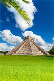 Nice view of Chichen, Itza monument, Mexico Royalty Free Stock Photos