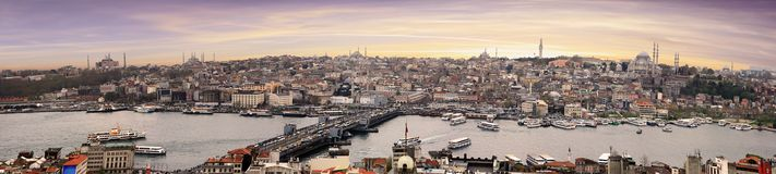 Istanbul in Turkey royalty free stock photography