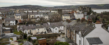 A nice view of Conwy Stock Images
