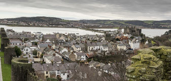 A nice view of Conwy Stock Photography