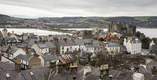 A nice view of Conwy Royalty Free Stock Image
