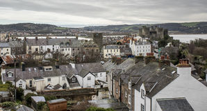 A nice view of Conwy Stock Photo