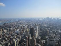A nice view from the empire state building royalty free stock photos