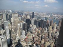A nice view from the empire state building stock photos