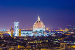 Nice view of florence Stock Image