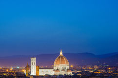 Nice view of florence Royalty Free Stock Photography