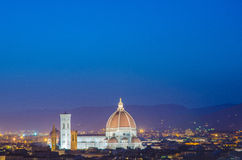 Nice view of florence Stock Images