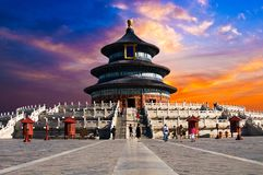 Tiantan, Beijing, China royalty free stock images