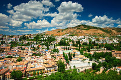 Nice view on Granada Stock Images