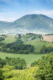 Nice view in Italy Marche near Camerino Stock Images