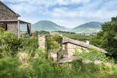 Nice view in Italy Marche near Camerino Royalty Free Stock Photography