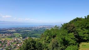 Lake of Geneva, Lac Léman. stock images