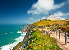 Nice view of a lighthouse Stock Images