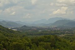 Nice view of Luang Prabang Royalty Free Stock Photo