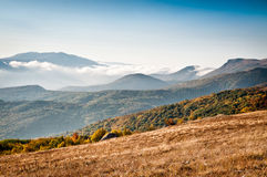 Nice view of mountains Stock Photo