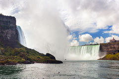 Nice view of Niagara Falls Stock Photography