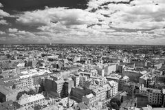 Nice view panorama of Riga. Royalty Free Stock Photos