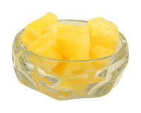 Nice view pineapple chunks Royalty Free Stock Image