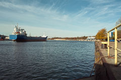 Nice view of port. Stock Photography