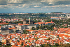 Nice  View of Prague in Czech Republic Stock Photos