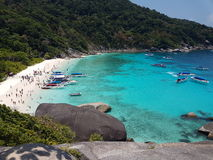 Nice. View sea thailand Stock Image