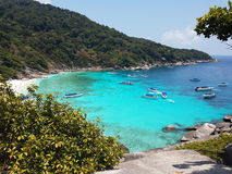 Nice. View sea thailand Stock Photos