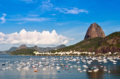 Nice view of Sugarloaf Mountain in Rio Stock Image