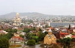 Nice view of Tbilisi, Georgi Stock Image
