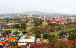 Nice view of Tbilisi, Georgia royalty free stock photos