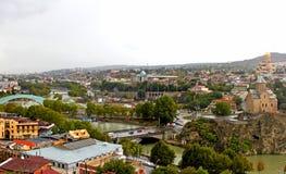 Nice view of Tbilisi, Georgia Stock Photography