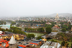 Nice view of Tbilisi, Georgia Stock Images