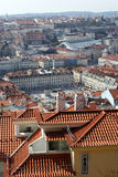Nice view to the center of Lisbon city Stock Images