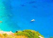 Nice view to the sea Stock Image