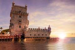 Tower of Belém Stock Photo