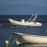 Nice view from Zavala in Hvar Island in Croatia Royalty Free Stock Image
