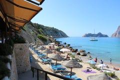 Nice views of Ibiza Saint Antoni. Summer time royalty free stock photos