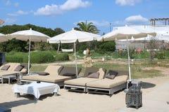 Nice views of Ibiza Saint Antoni. Summer time royalty free stock images